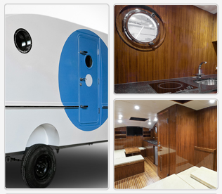 RV Blue Eye Noah is the ultimate refuge protecting you from tsunami and nuclear contamination.